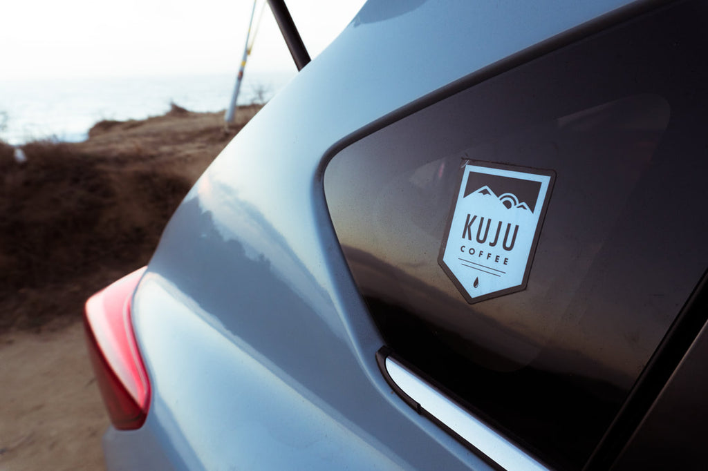 Kuju Logo on Subaru Sunset