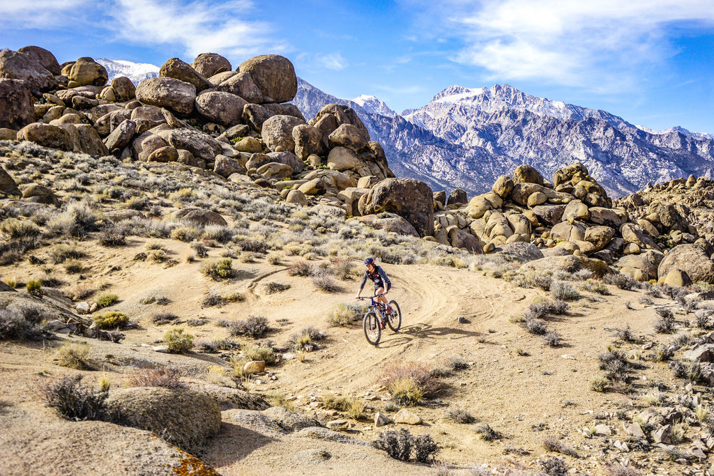 clare healy mountain biking national parks