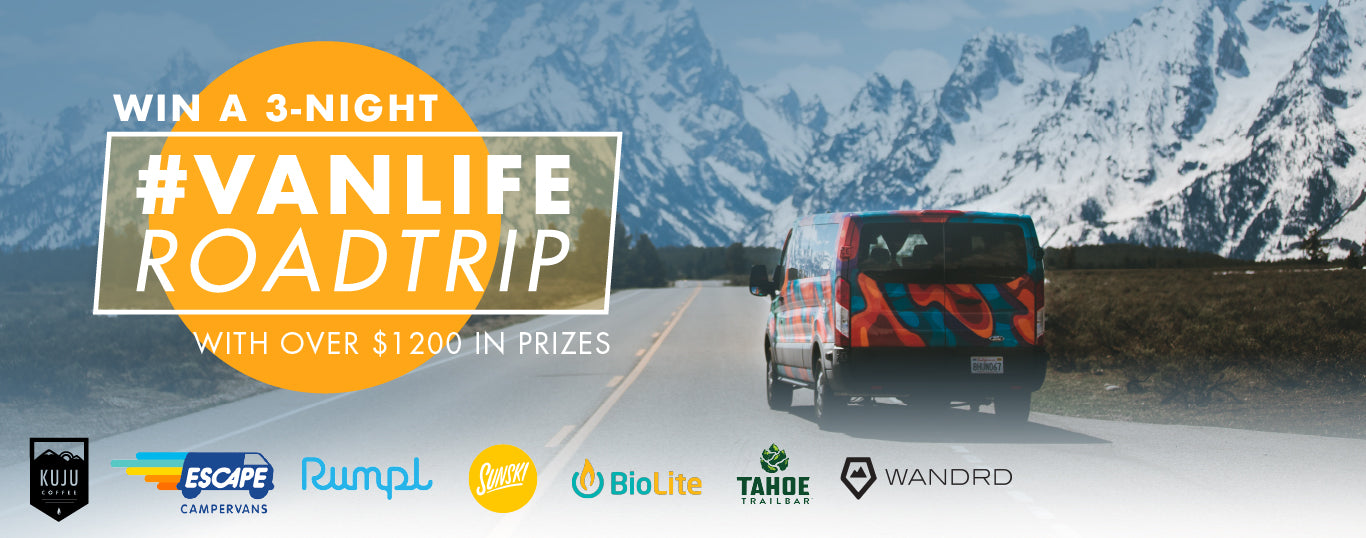 win a 3 night vanlife roadtrip giveaway kuju coffee escape campervans