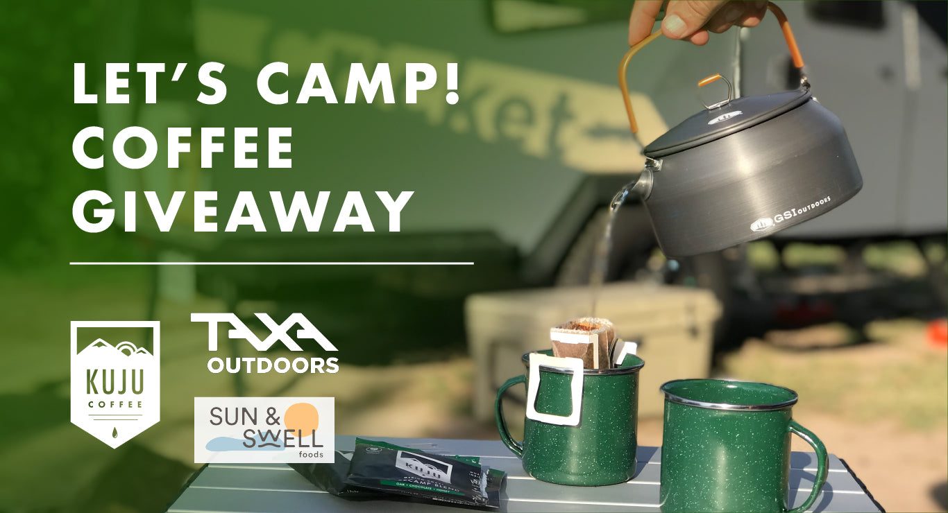 lets camp coffee giveaway