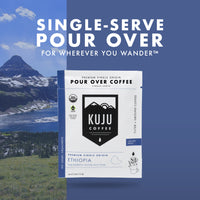 Single-Serve Pour Over Coffee | Fair Trade, Organic - Ethiopia, Yirgacheffe - Kuju Coffee