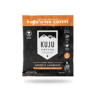 Single-Serve Pour Over Coffee | Angels Landing, Light Roast - Kuju Coffee
