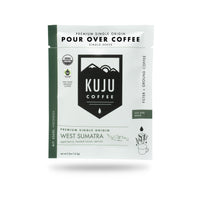 Single-Serve Pour Over Coffee | Fair Trade, Organic - West Sumatra, Indonesia - Kuju Coffee