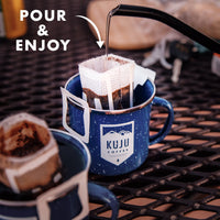 Single-Serve Pour Over Coffee | Bold Awakening, Dark Roast - Kuju Coffee