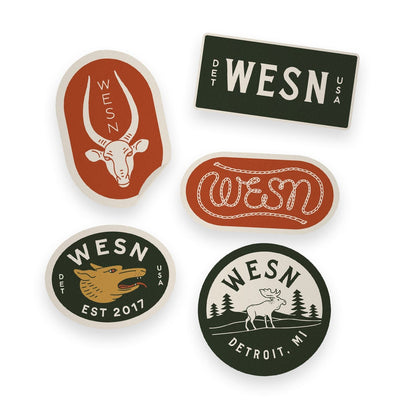 Sticker pack - WESN