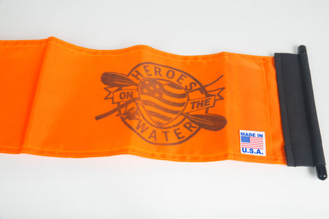 YakAttack VISI-Pro™ Heroes on the Water Flag ONLY
