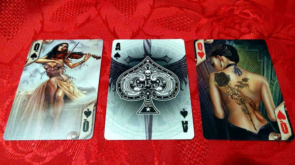 Playing Cards Course (1 hour) - Angelo's Playing Cards Cartomancy
