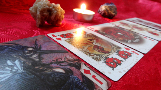 Love reading - Angelo's Playing Cards Cartomancy