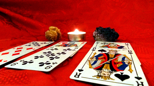 All question playing cards reading - Angelo's Playing Cards Cartomancy