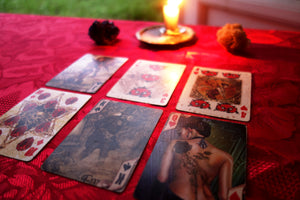 Are you under Black Magic reading - Angelo's Playing Cards Cartomancy
