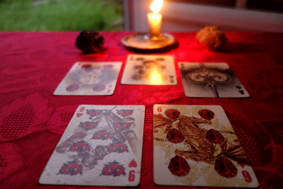 Spiritual reading - Angelo's Playing Cards Cartomancy