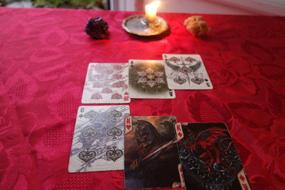 Crossroads choice reading - Angelo's Playing Cards Cartomancy
