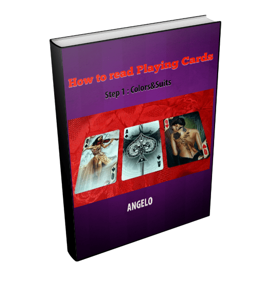 How to read Playing Cards : vol.1 : colors&suits - Angelo's Playing Cards Cartomancy