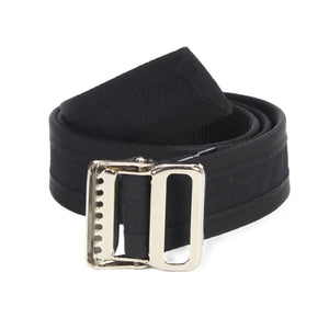 Black Handmade Vegan Belt