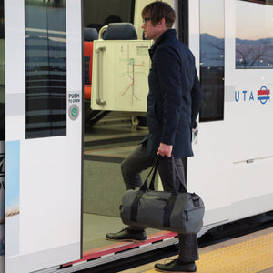 Grey Barrel Duffel Lifestyle Trax Train 24 L