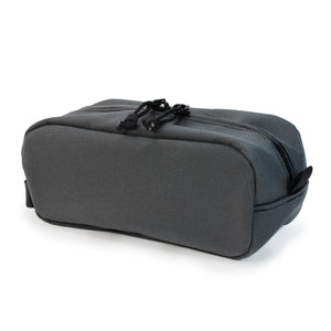 Grey Drop Caddy (Dopp Kit) Back