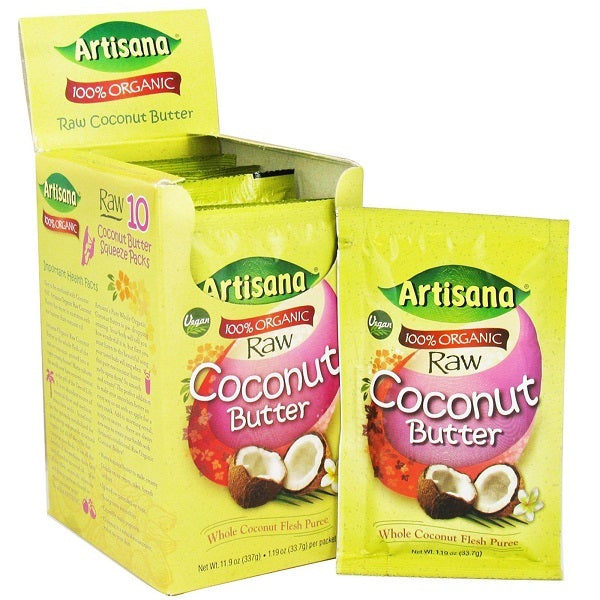 Artisana Og2 Coconut Butter Squeeze pack (10x1.06Oz)