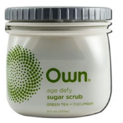 Own Own Sugar Scrub Green Tea + Cucumber (1X9 OZ)