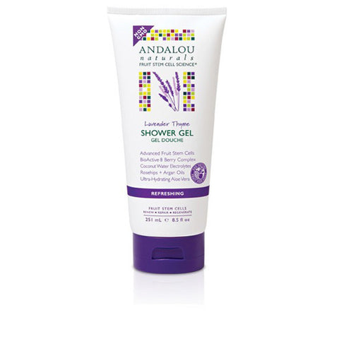 Andalou Naturals Shower Gel Lavender Thyme Refreshing (8.5 fl Oz)