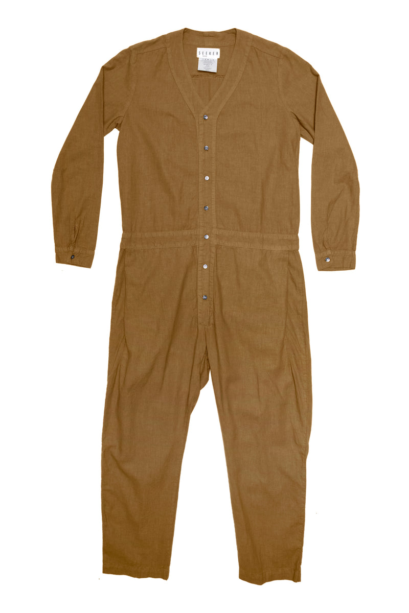 Jumpsuit in Camel