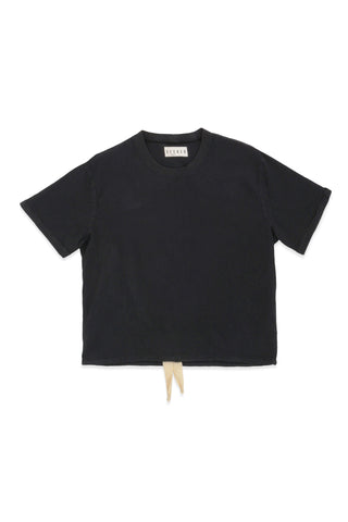 Infinity French Terry Turtle Neck Slate Navy
