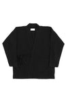 Infinity French Terry Turtle Neck Black
