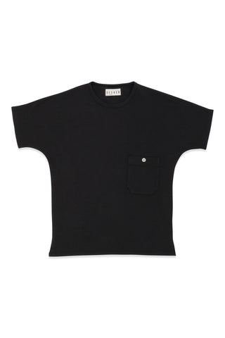 Pocket Dolman Tee in Vine