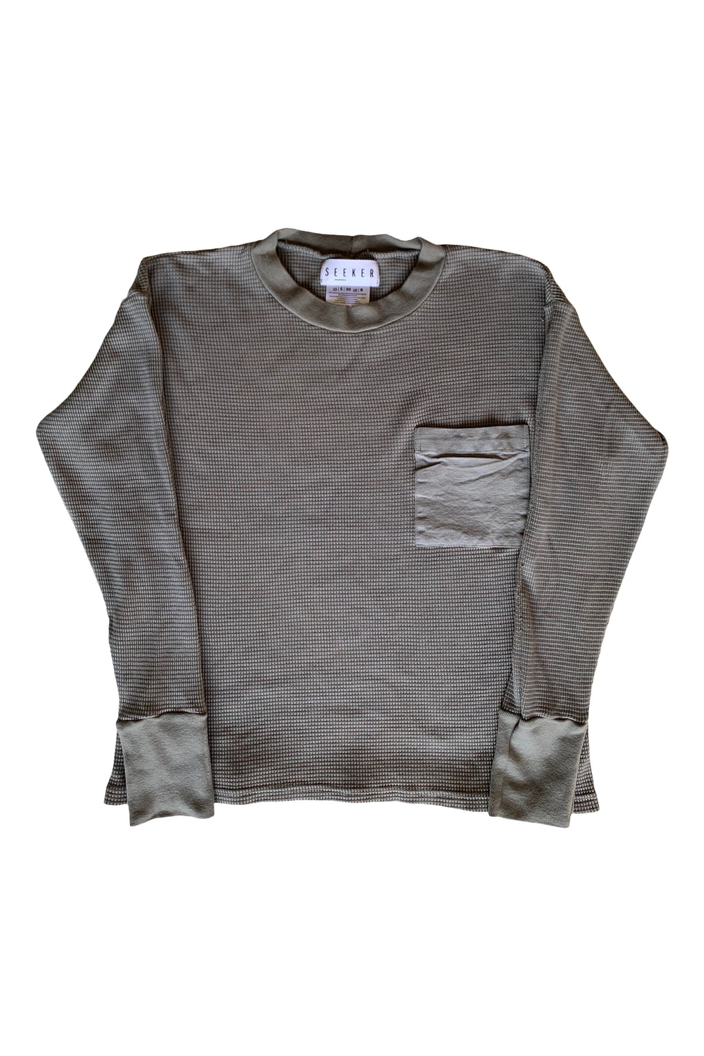 LONG SLEEVE THERMALS STONE