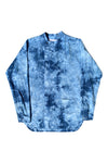 A Sym Button Up in Tie Dye Okra