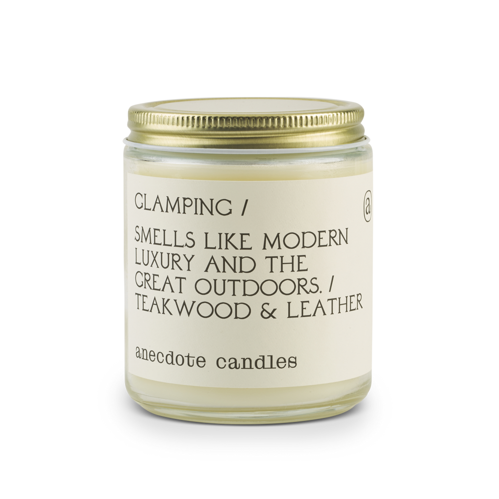 SOY ANECDOTE CANDLE- GLAMPING