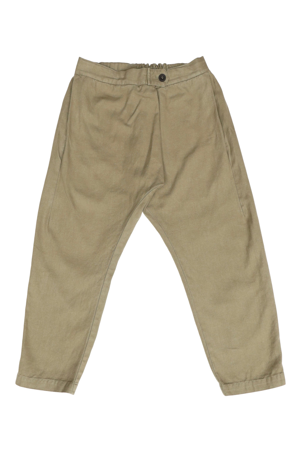 Canvas Souk Pant in Olive
