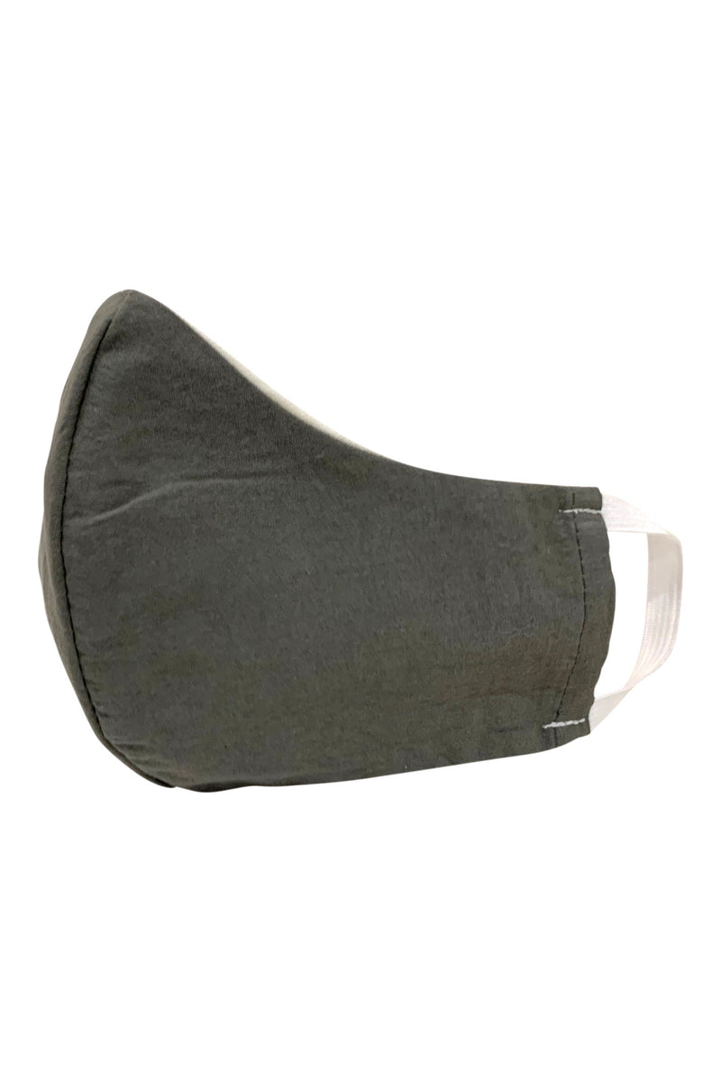 seeker hemp face mask reversible grey front