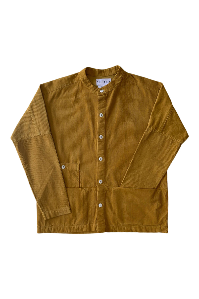 Raj Corduroy Coat in Squash