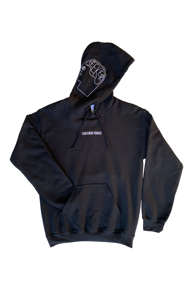 Search Inside Yourself Hoodie in Black