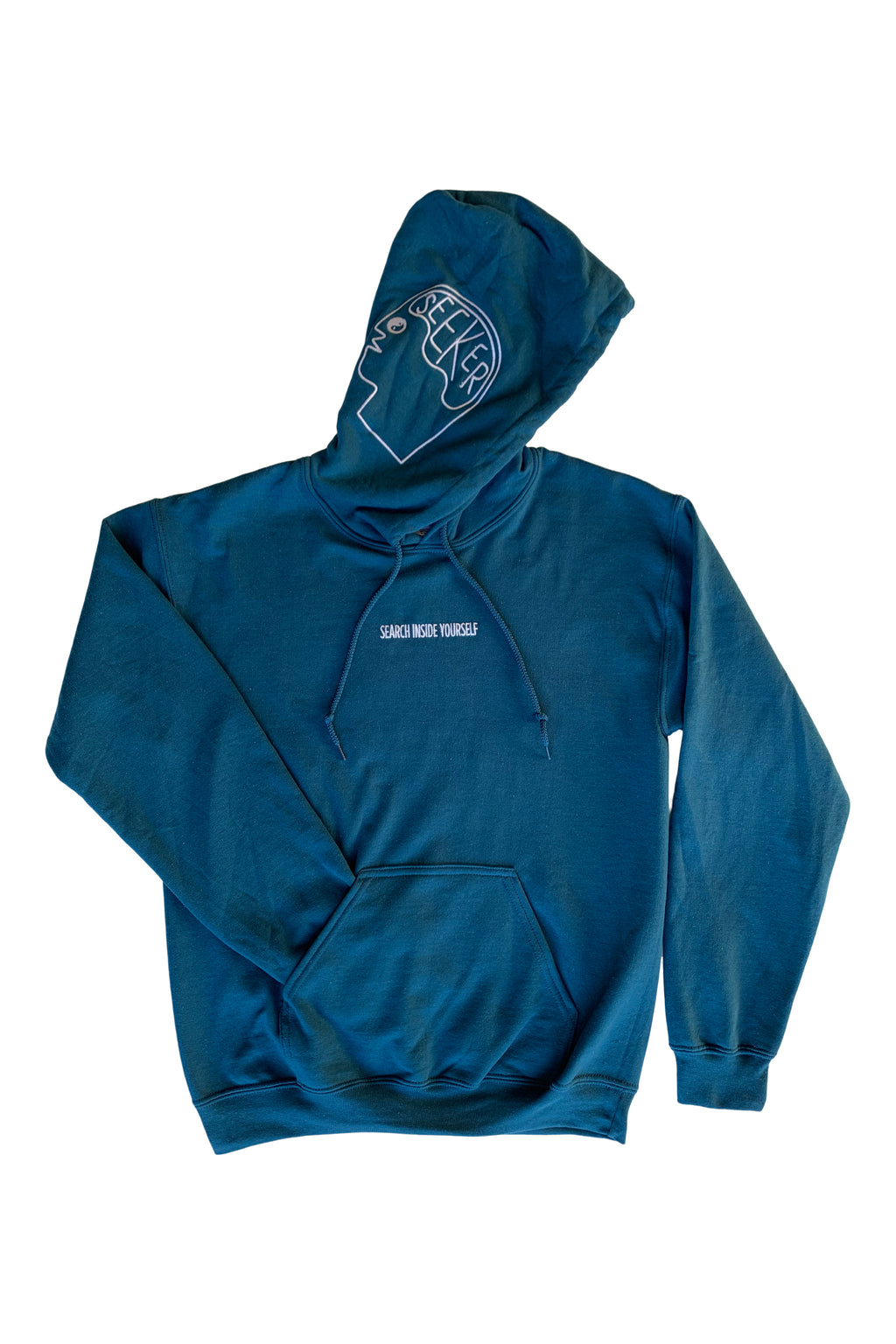Search Inside Yourself Hoodie in Legion Blue