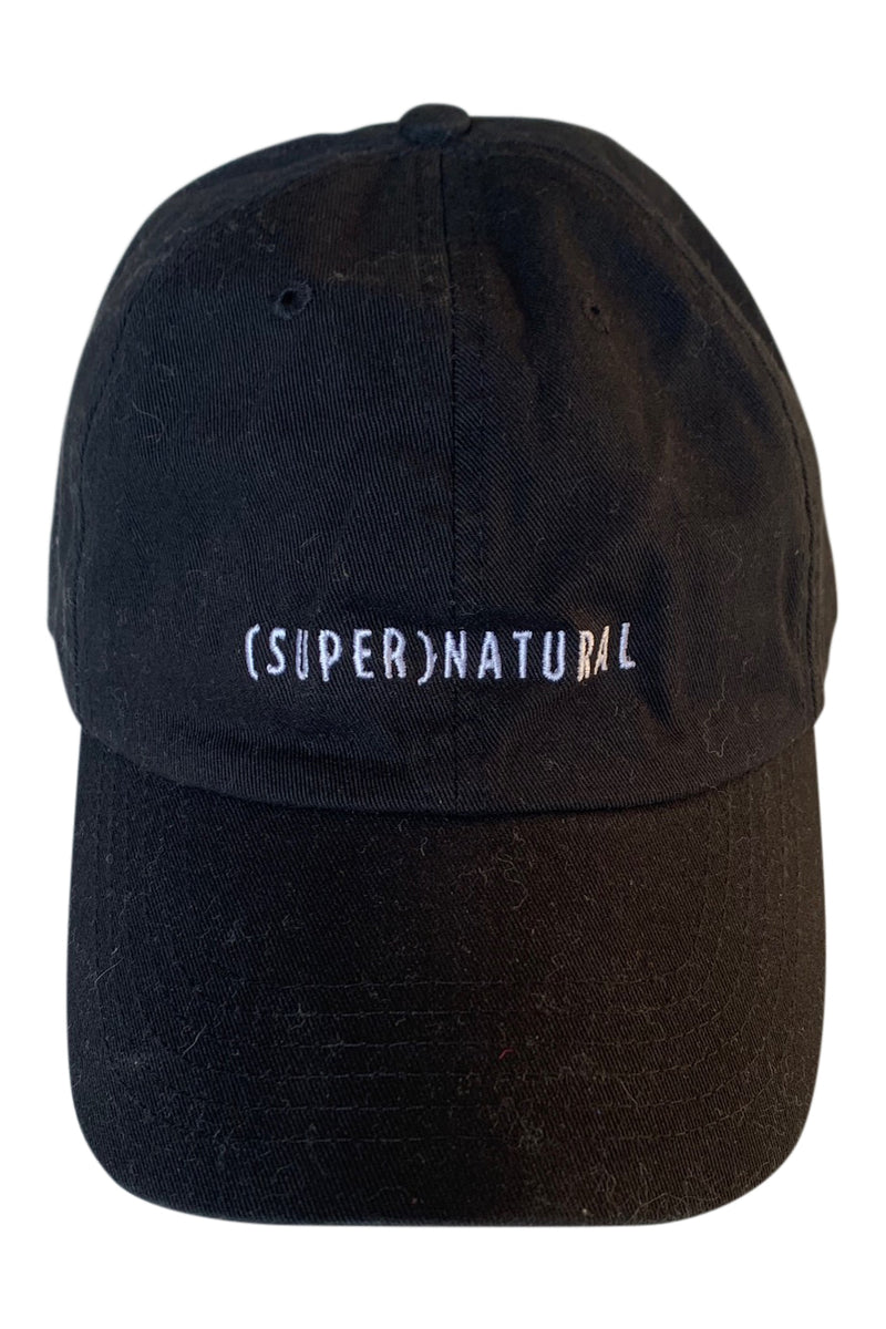 SUPERNATURAL HAT BLACK