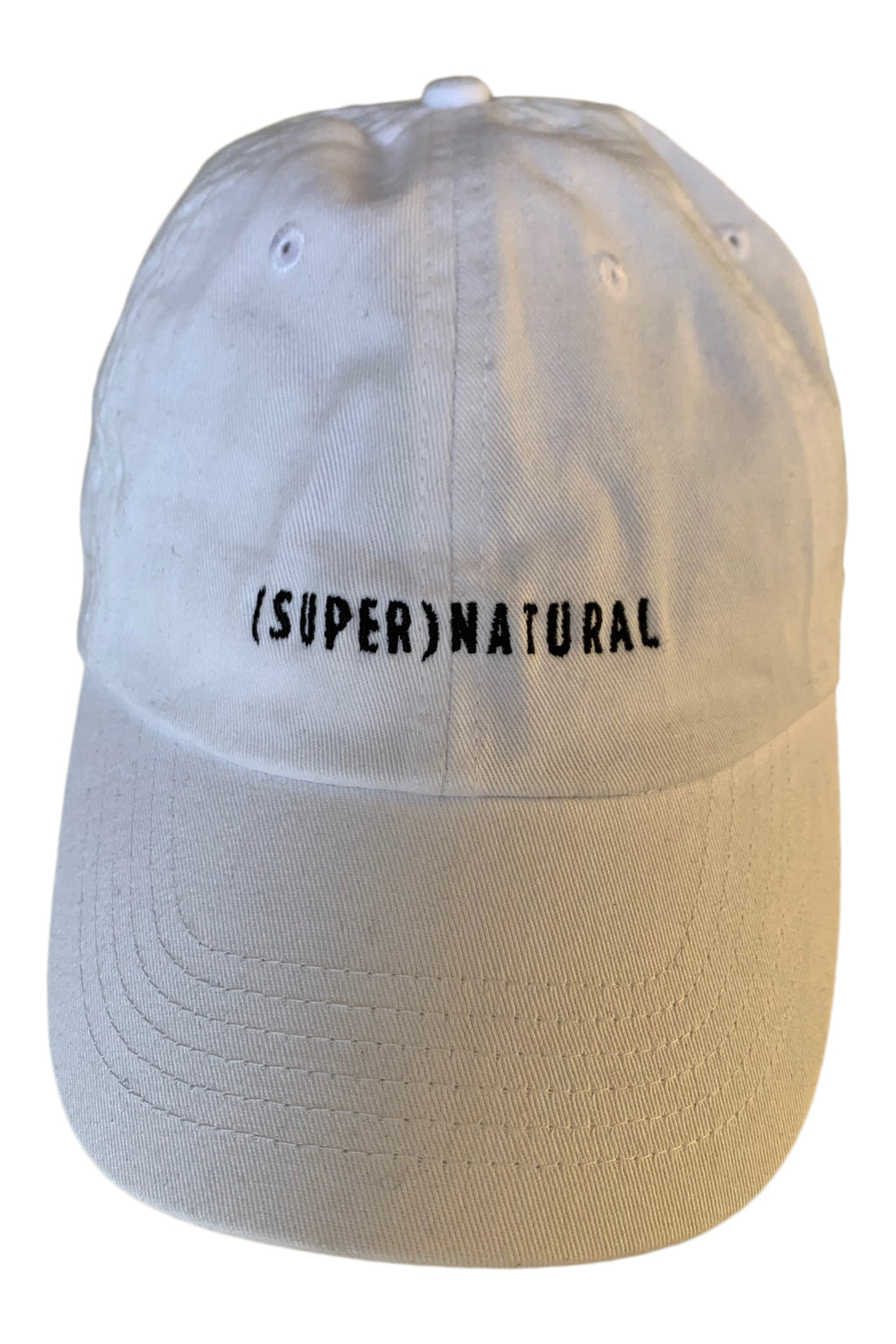 SUPERNATURAL HAT WHITE