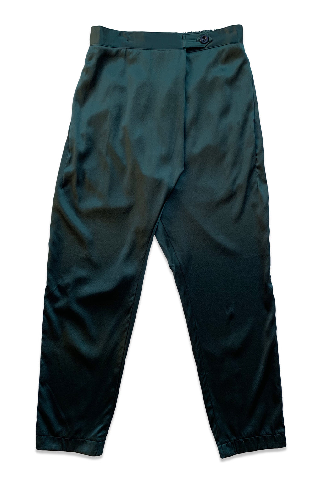 Souk Silk Pant in Emerald