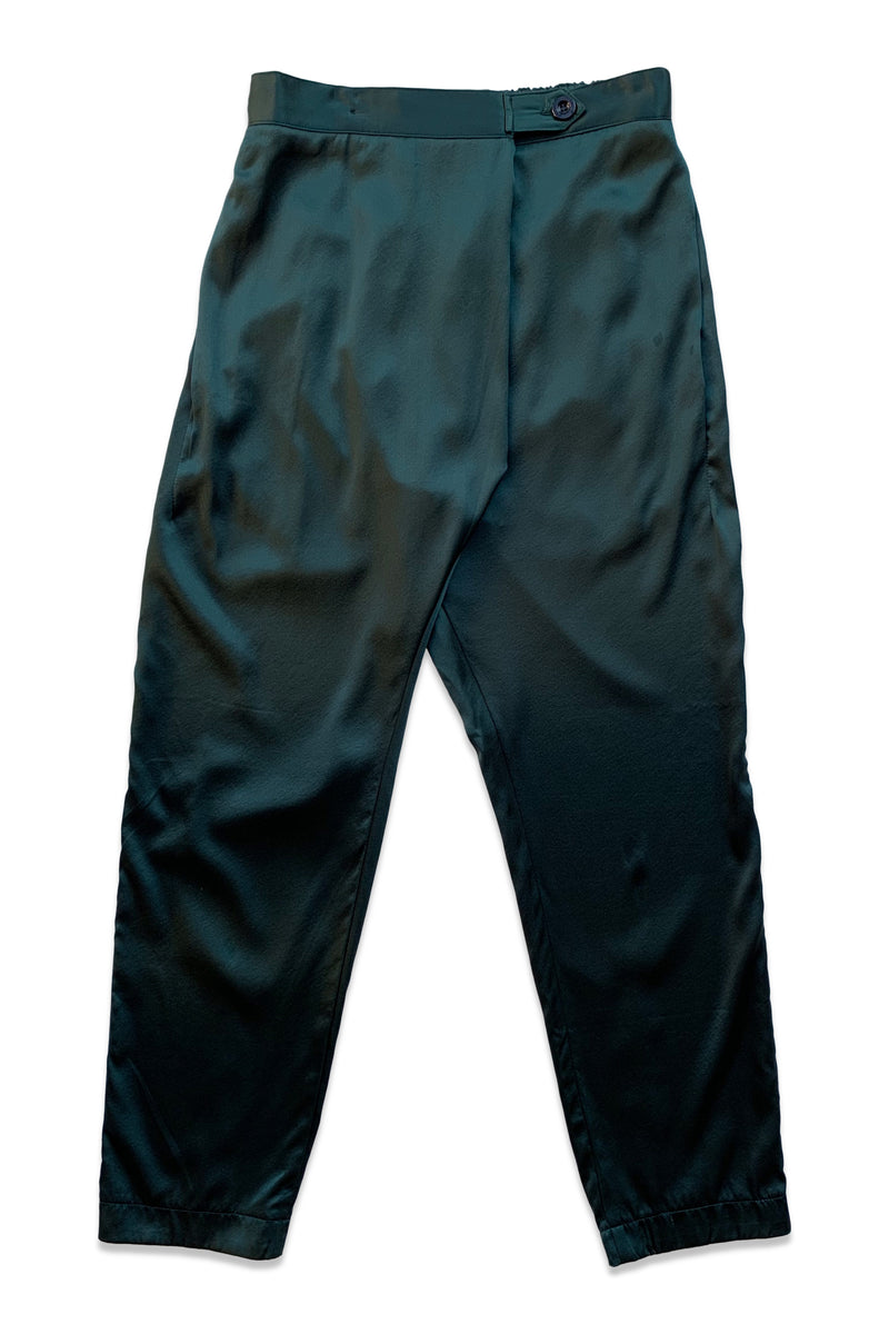 Silk Souk Pant in Emerald