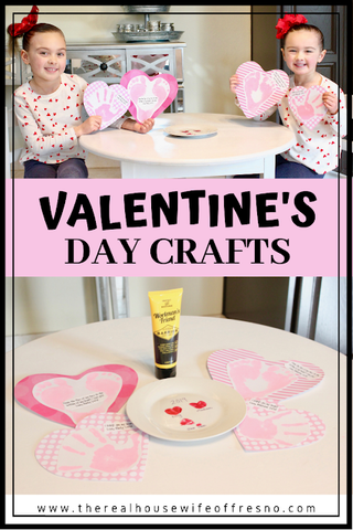 Valentine's Day Crafts with Workman's Friend Barrier Skin Cream #1