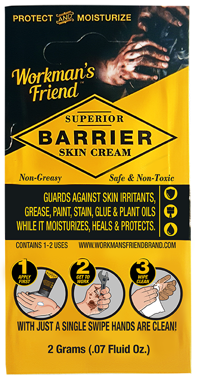 Barrier Skin Cream Sample Sachet for 1-2 uses