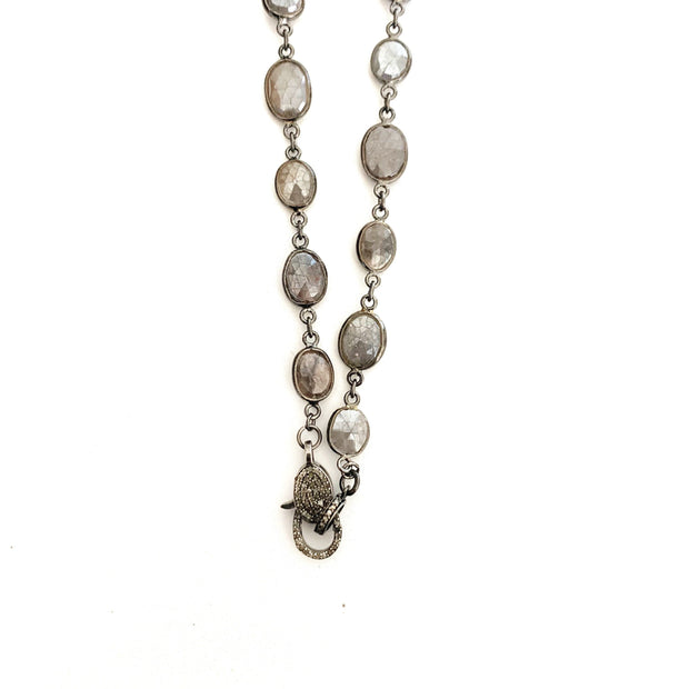 Labradorite Chain With Clasp - Caryn Michelle Designs