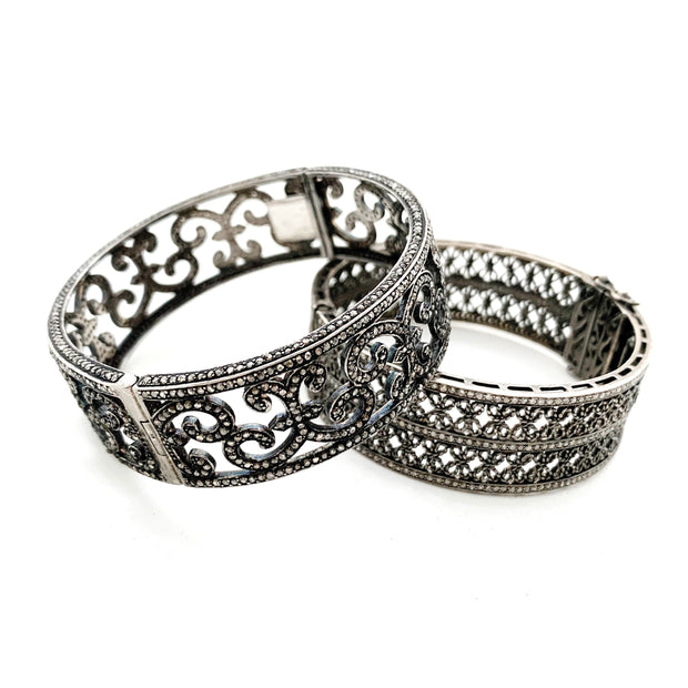 Diamond Filigree Bracelet - Caryn Michelle Designs