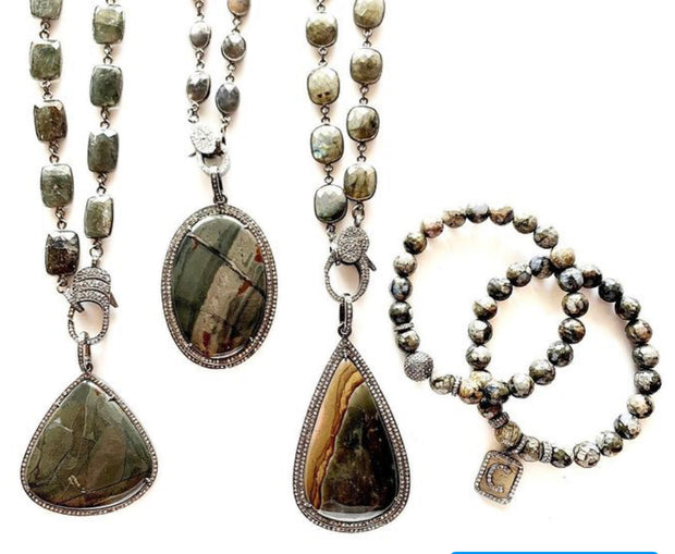 Flash Labradorite Chain with Clasp