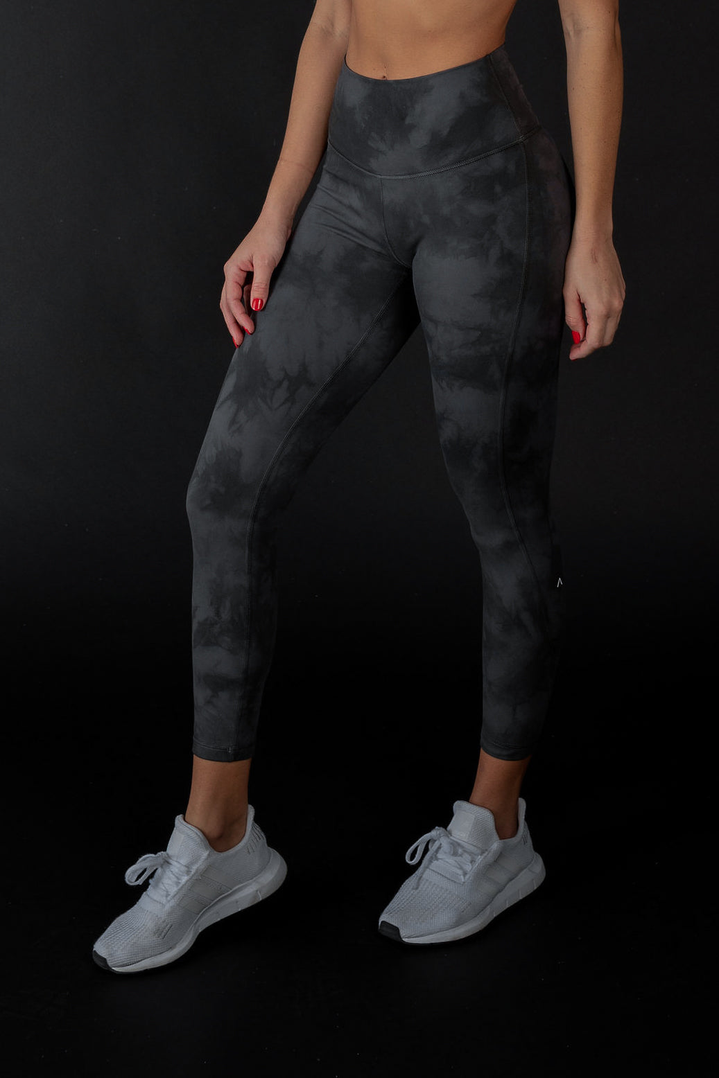 ACTA™ Black Smoke Leggings - Black
