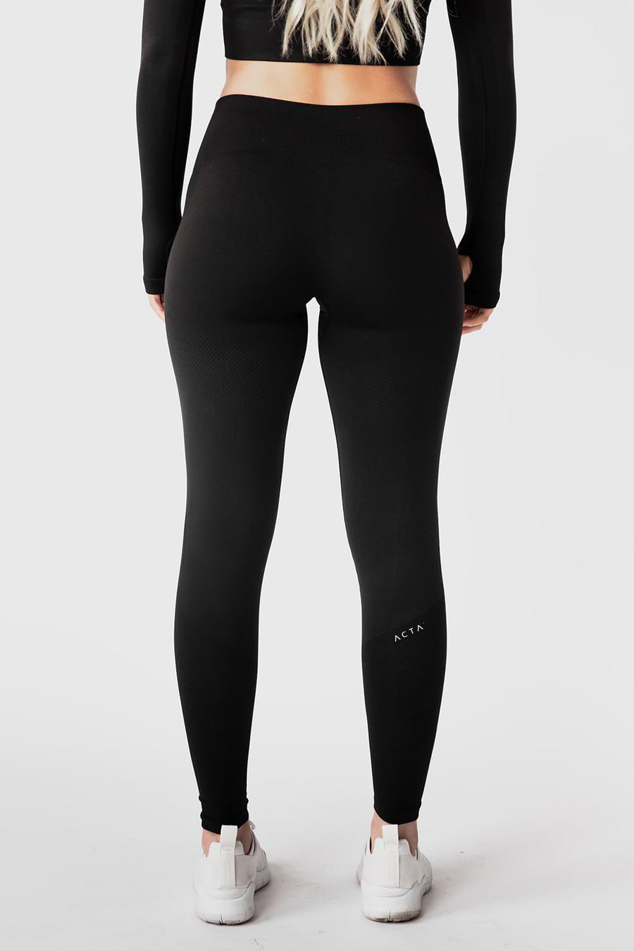 ACTA™ Seamless Legacy Leggings - Black