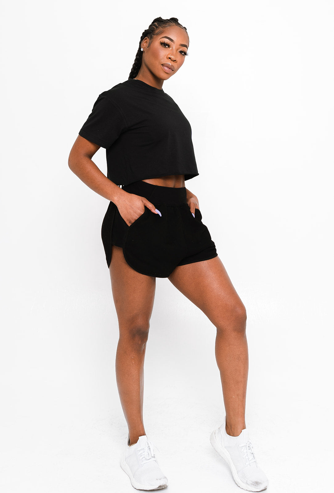 ACTA™ Daily Sweat Shorts - Black