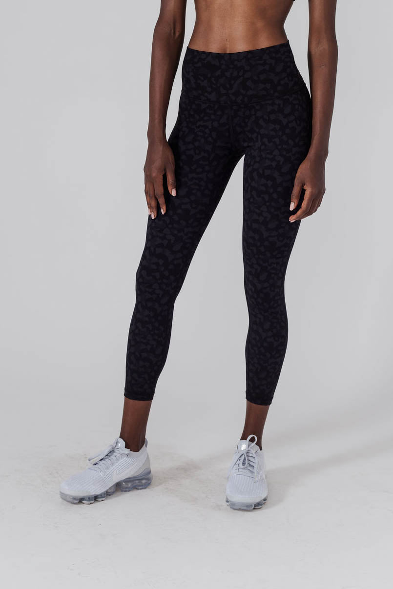 ACTA™ Leopard BLM Leggings - Black