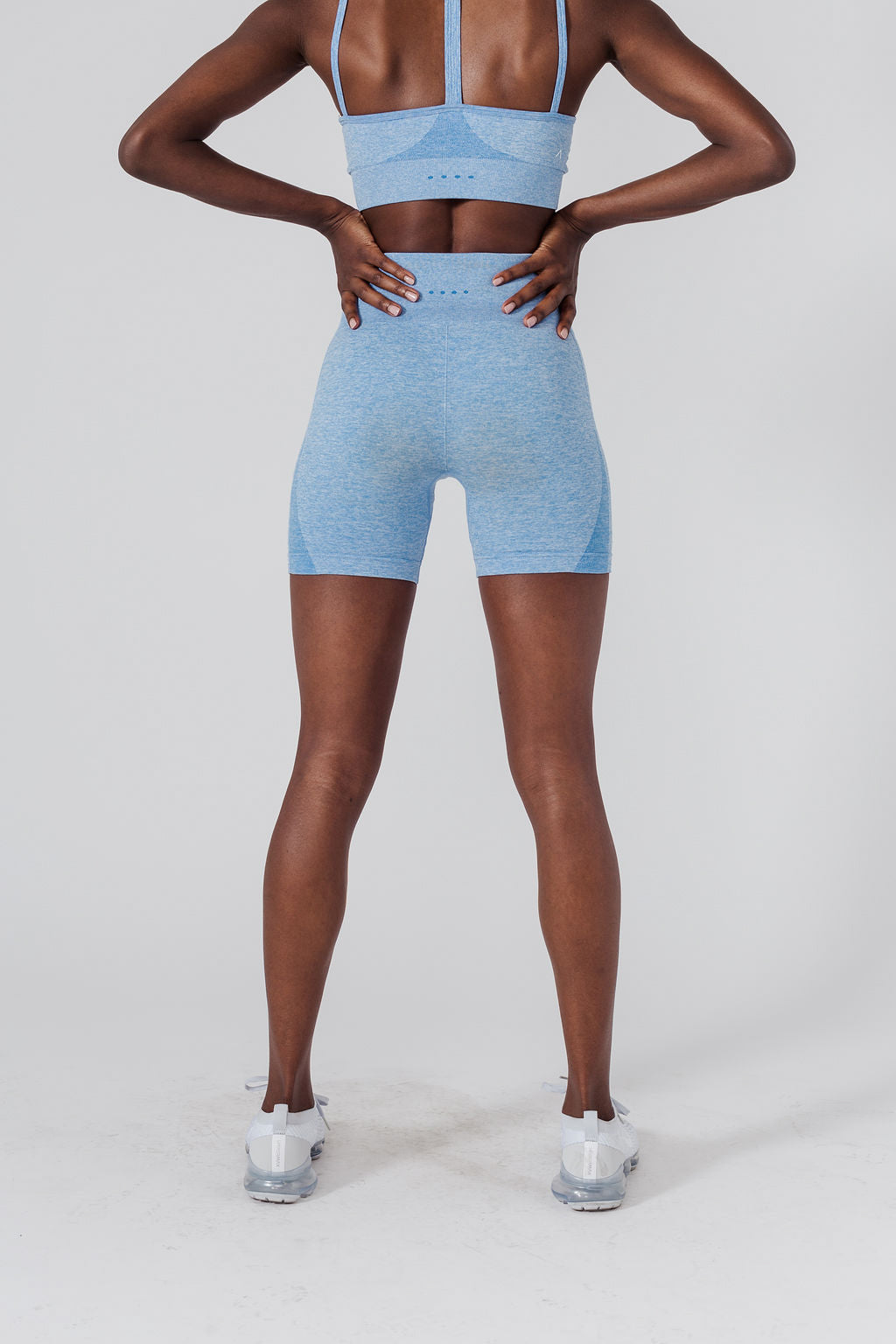 "ACTA™ Seamless Pro Shorts 6"" - Chambray"