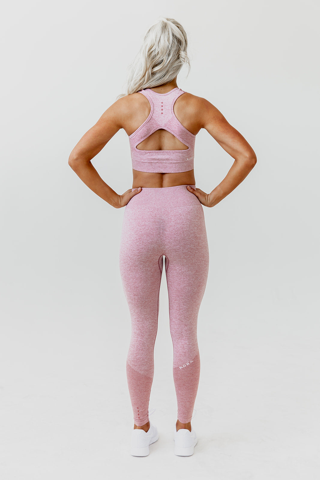 KORA Seamless Sports Bra - Dusty Rose - Final Sale